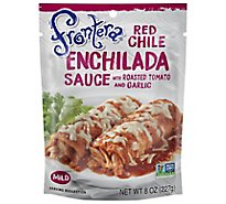 Frontera Sauce Enchilada Red Chile Mild Bag - 8 Oz