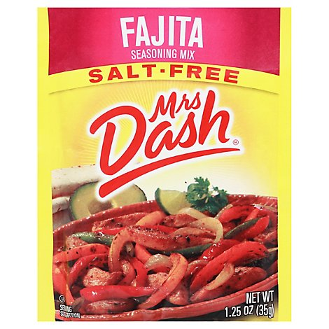 Mrs Dash Seasoning Mix Salt Free Fajita - 1.25 Oz
