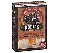 Kodiak Cakes Power Cakes Flapjack & Waffle Mix Protein Packed Buttermilk - 20 Oz