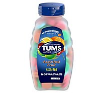 Tums Ex Assorted Flavors Antacid Tablets - 96 Count