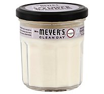 Mrs. Meyers Clean Day Scented Soy Candle Lavender Scent 7.2 ounce candle