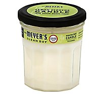 Mrs. Meyers Clean Day Scented Soy Candle Lemon Verbena Scent 7.2 ounce candle