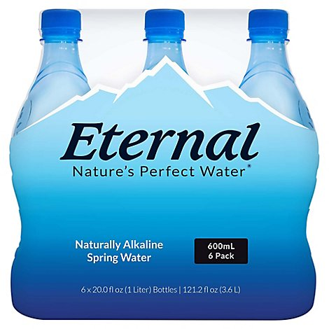 Eternal Spring Water Naturally Alkaline - 6-600 Ml