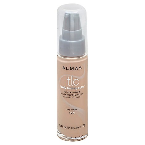 Almay Truly Lasting Color Make Up Ivory - 1 Oz