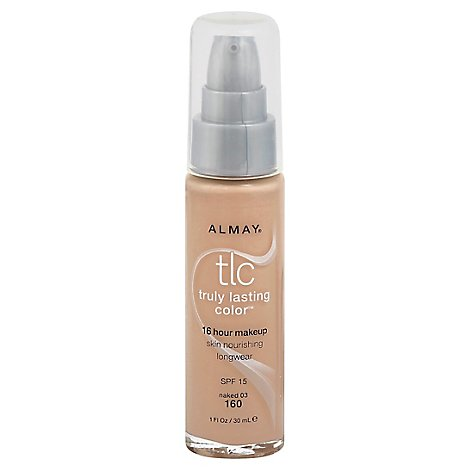 Almay Truly Lasting Color Make Up Naked - 1 Oz