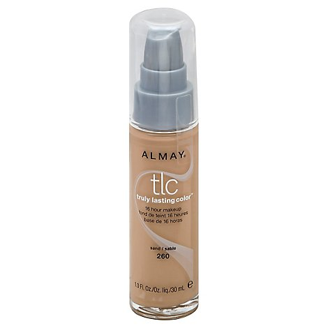 Almay Truly Lasting Color Make Up Sand - 1 Oz