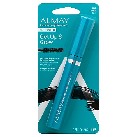 Almay One Coat Getup & Grow Wp Black - .21 Oz