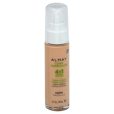 Almay Clear Complexion Liquid Make Up Ivory - 1 Oz