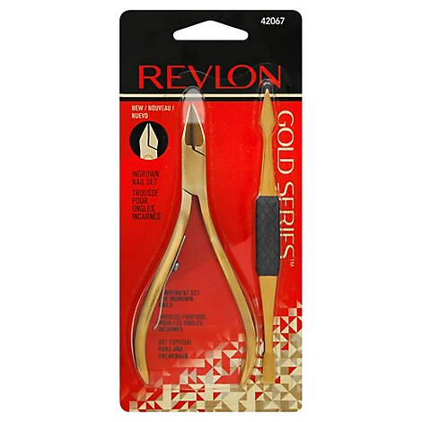 Revlon Rev Gld Series Ingrown Nl Set - Each
