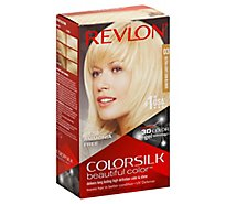 Revlon ColorSilk Beautiful Color Permanent Color Ultra Light Sun Blonde 03 - Each