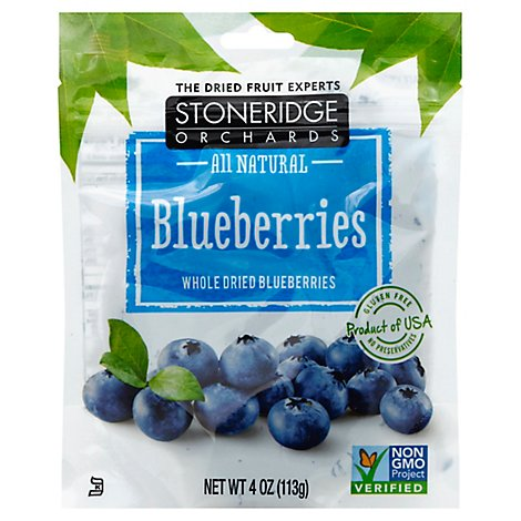 Stoneridge Blueberries Dried - 4 Oz