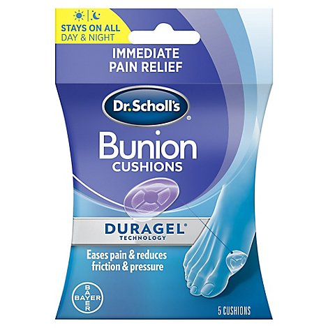 Dr Scholls Bunion Cushions Duragel Technology - 5 Count