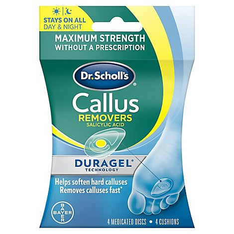 Dr Scholls Callus Removers Duragel Technology - Each
