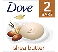 Dove Beauty Bar Nourishing Care Shea Butter - 2-4.5 Oz