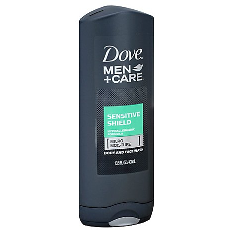 Dove Men+Care Body + Face Wash Sensitive Shield - 13.5 Fl. Oz.