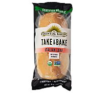 Essential Baking Bake At Home Italian Baguette Organic - 8 Oz