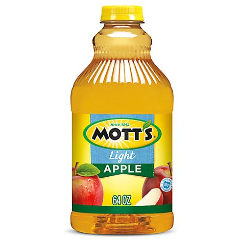 Motts Juice 100% Apple Light - 64 Fl. Oz.