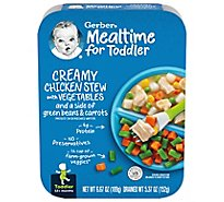 Gerber Baby Food Toddler Creamy Chicken Stew With Vegetables - 6.67 Oz