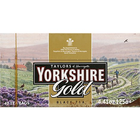 Taylors of Harrogate Black Tea Yorkshire Gold - 40 Count