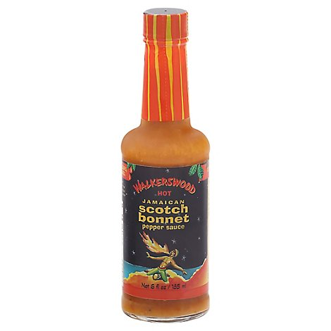 Walkerswood Hot Jamaican Scoth Bonnet Pepper Sauce - 6 Oz