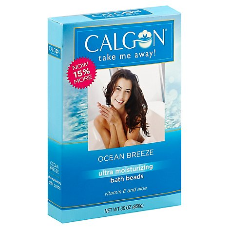 Calgon Bath Beads Ocean Breeze - 30 Oz