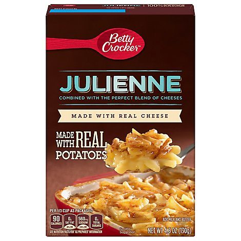 Betty Crocker Potatoes Julienne Box - 4.6 Oz