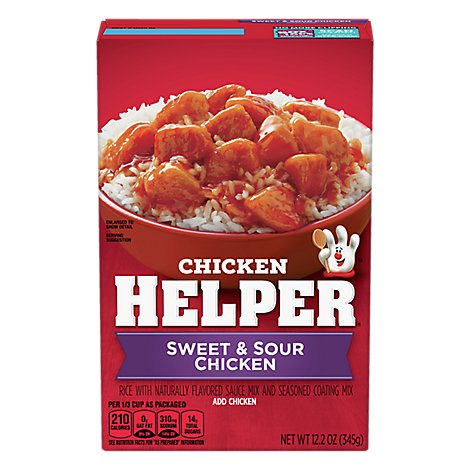 Betty Crocker Chicken Helper Chicken Sweet & Sour Box - 12.2 Oz