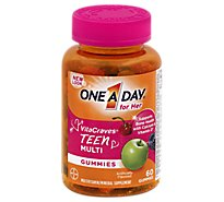 One A Day Vitacraves Teen For Her - 60 Count