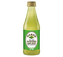 Roses Lime Juice Sweetend - 12 Fl. Oz.