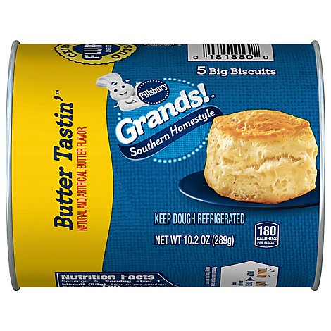 Pillsbury Grands! Biscuits Southern Homestyle Butter Tastin - 5 Count