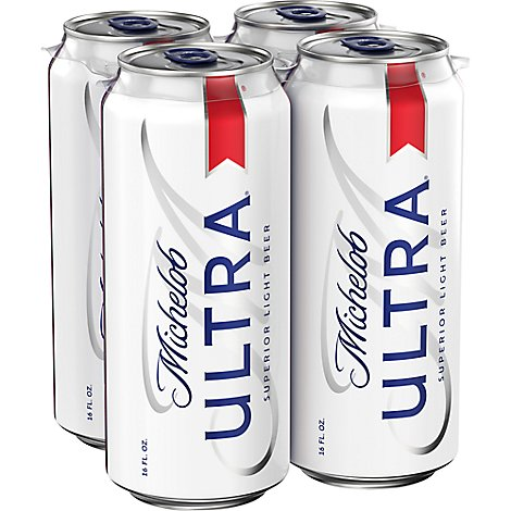 Michelob Ultra - 4-16Fl. Oz.