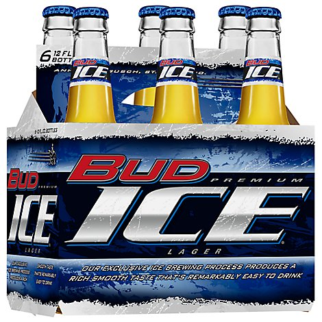 Budweiser Ice Beer Long Neck Btl - 6-12 Fl. Oz.