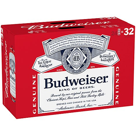 Budweiser Can - 24-16 Fl. Oz.