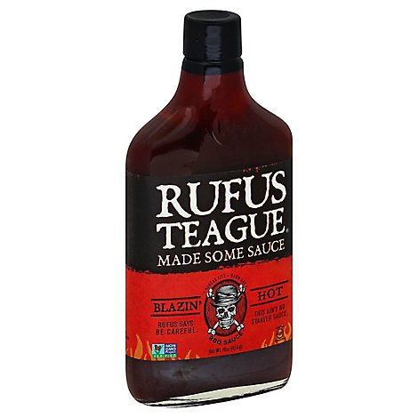 Rufus Teague Sauce Blazin Hot - 16 Oz