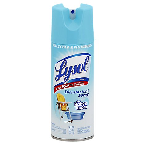 Lysol Disinfectant Spray For Babys Room - 12.5 Oz