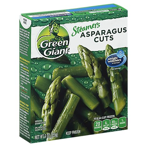 Green Giant Steamers Asparagus Cuts - 9 Oz