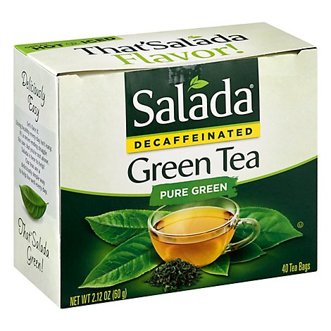 Salada Green Tea Pure Decaffeinated - 40 Count