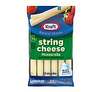 Kraft Natural Cheese Mozzarella String Cheese 12 Pack - 12 Oz