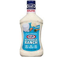 Kraft Dressing Buttermilk Ranch Family Size - 24 Fl. Oz.