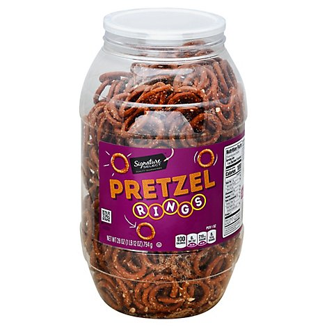 Signature SELECT Pretzels O Rings - 28 Oz