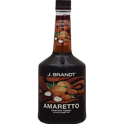 J.BRANDT Liqueur Amaretto 30 Proof - 750 Ml