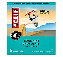 CLIF Energy Bar Cool Mint Chocolate - 6-2.4 Oz