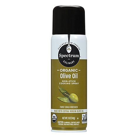 Spectrum Cooking Spray Non-Stick Olive Oil Organic - 5 Oz