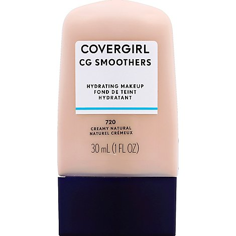 COVERGIRL CG Smoothers Hydrating Makeup Creamy Natural 720 - 1 Fl. Oz.