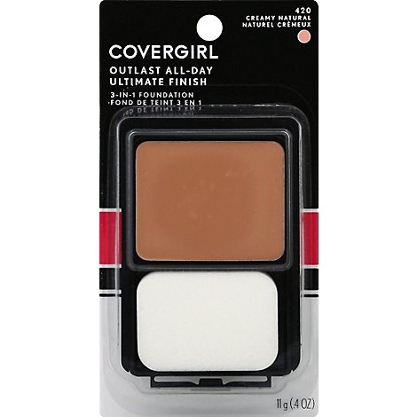 COVERGIRL Ultimate Finish Liquid Powder Make-Up Creamy Natural 420 - 0.4 Oz