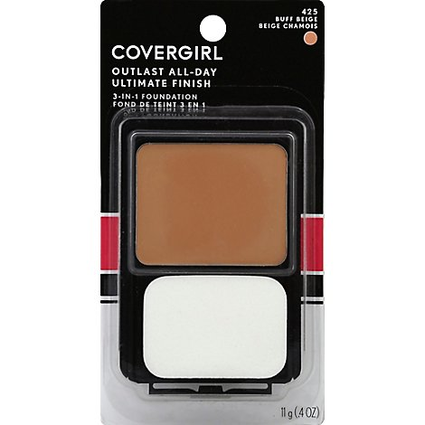 COVERGIRL Ultimate Finish Liquid Powder Make-Up Buff Beige 425 - 0.4 Oz