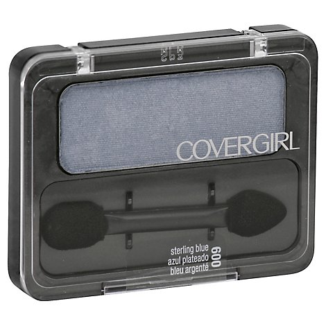 COVERGIRL Eye Enhancers 1-Kit Eye Shadow Sterling Blue 600 - 0.09 Oz