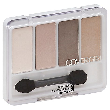 COVERGIRL Eye Enhancers 4-Kit Eye Shadow Natural Nudes 280 - 0.19 Oz