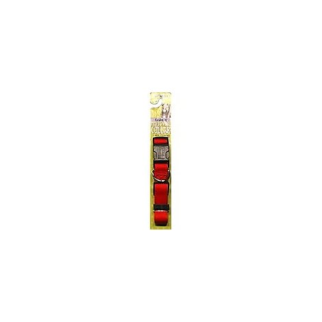 Aspen Pet Pet Collar Adjustable Large Red - Each