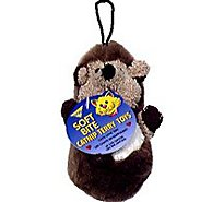 Aspen Pet Catnip Toy Terry Plush Hedgehog - Each